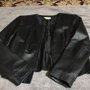 Newport News Black Leather Jacket